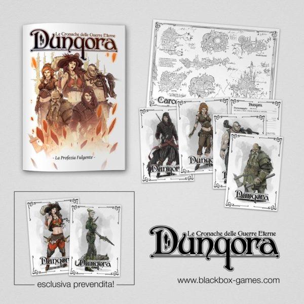 Dunqora: Le Cronache delle guerre Eterne - La profezia Fulgente -