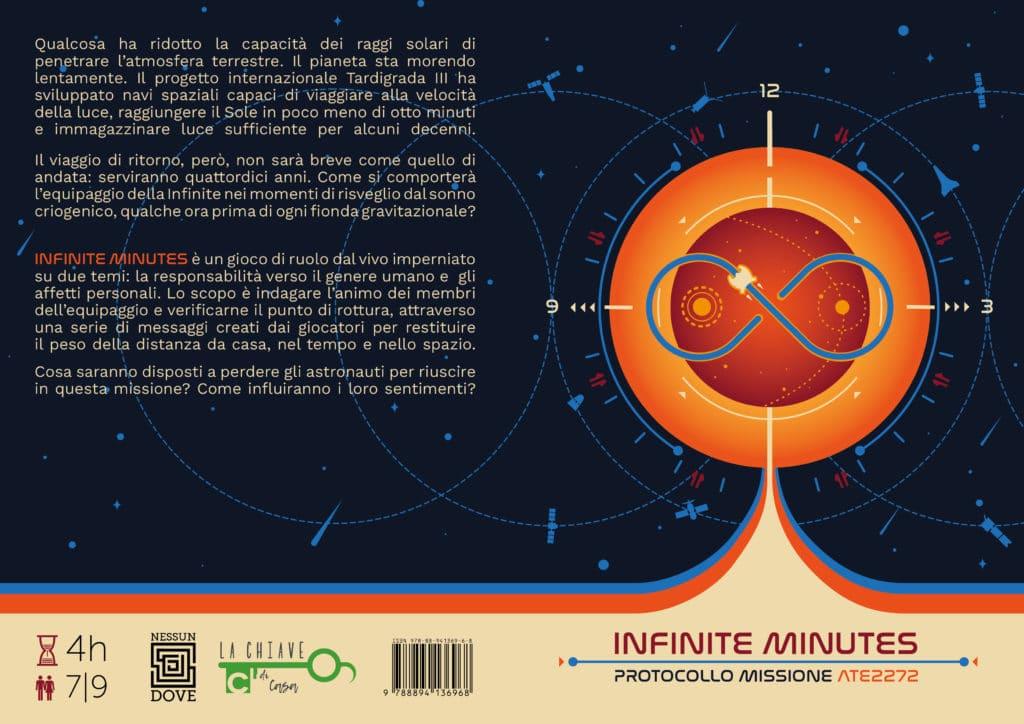 Infinite Minutes - la copertina