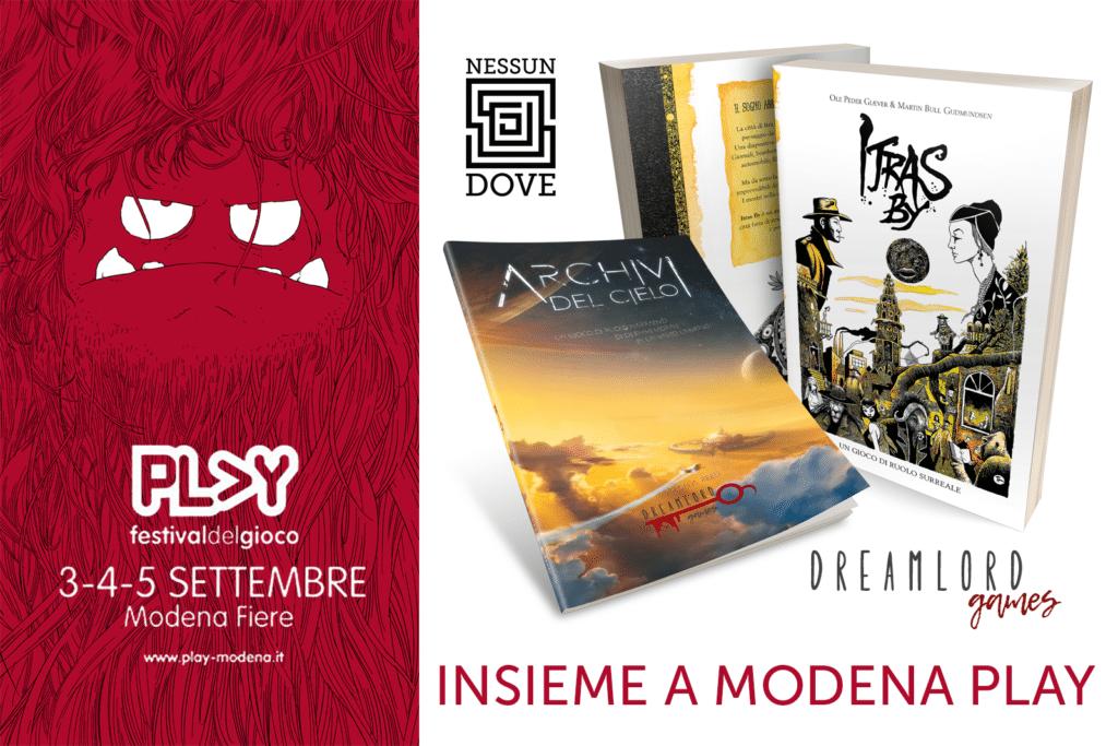 Dreamlord Games e NessunDove a Modena Play 2021